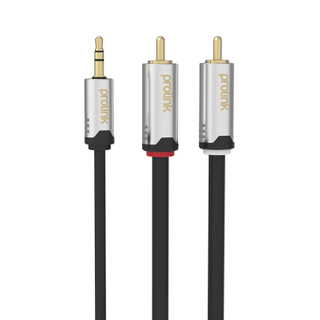 3.5mm ST Plug to 2*RCA Plugs