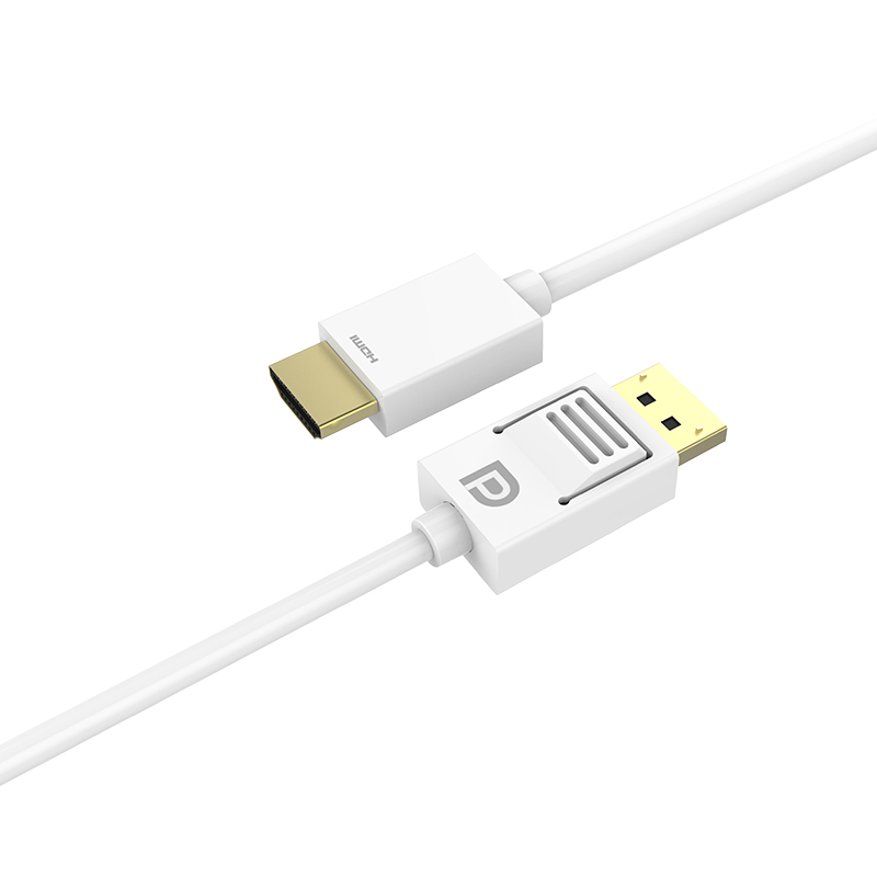 DP Plug to HDMI A Plug